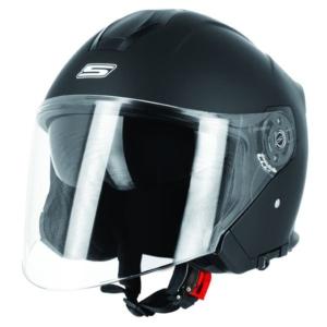 Casco Jet ideale in moto o in scooter per uso urbano e turistico.