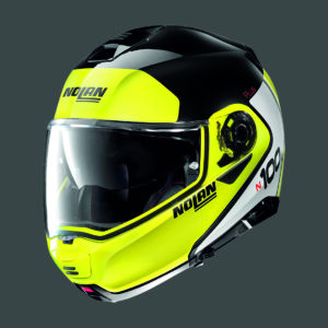 Casco NOLAN N100.5 PLUS DISTINCTIVE N-COM 28 GLOSSY BLACK